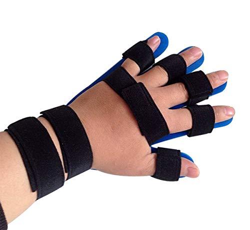 Fingrar och handledsrehabiliter Fingerkorrigeringsfingskort, kan hängas i nacke, stroke, ryggmärgsskada och hemiplegi kan förbättra greppet