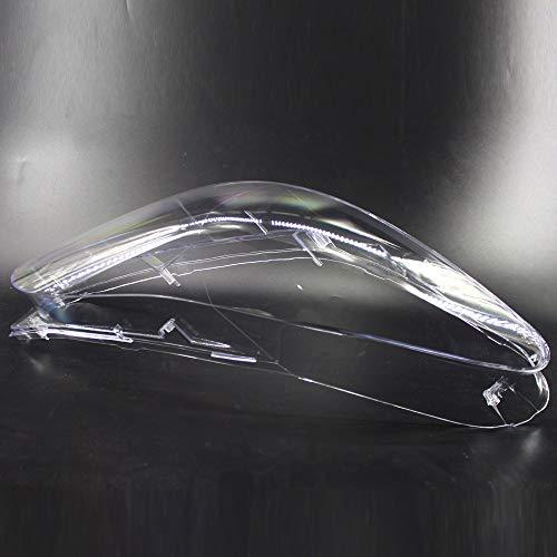 NO LOGO LSB-Scheinwerferabdeckung, 1pc Auto-Scheinwerfer Glaswasc vorne Lampenabdeckungen Scheinwerferglas Fit for BMW F10 F18 LCI 528i 530i 535i 2010-2014 (Farbe : Left)