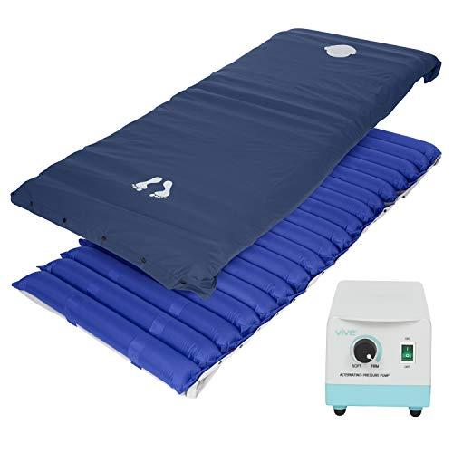 Vive Alternating Pressure Mattress 5' - Air Topper Pad for Bed Sore, Ulcer Prevention, Bedridden...