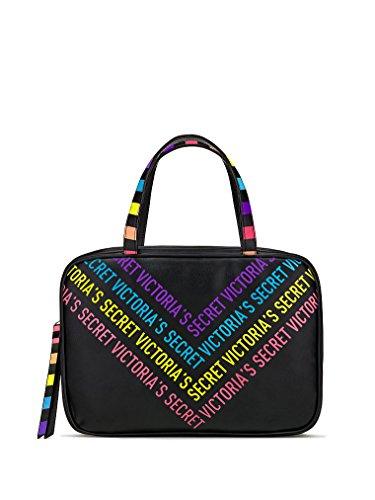 Victoria's Secret Jetsetter Travel Case, Rainbow Heart/V-Logo