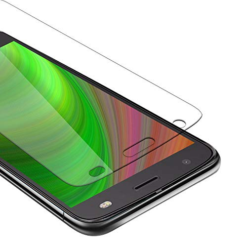 Cadorabo Película Protectora para Motorola Moto Z2 Force en Transparencia ELEVADA - Vidrio Templado (Tempered) Cristal Antibalas Compatible 3D con Dureza 9H