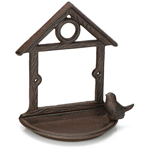 com-four® Baño para Aves Silvestres - Casa de alimentación de
