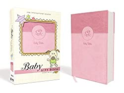 Baby Gift Bible Keepsake Edition