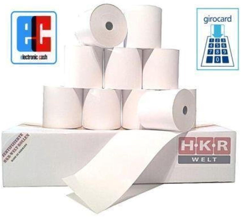 EC-Cash Rollen für Hypercom Artfür EMa Portable SEPA Lastschrifttext - 50 ThermGoldllen 57 25 12 Ø 45mm - zertifizierte HKR-Welt® Bonrollen aus 55g m² Thermopapier B01MZ6S1PF | Qualitätsprodukte