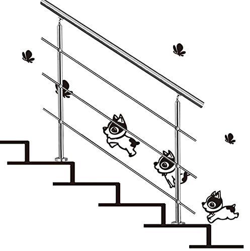 LXYu-Pasamanos Barandillas para escaleras Exteriores - Kit Completo - Barras Exteriores de Acero Inoxidable para Jardines Barandilla Interior para escaleras para Ancianos y discapacitados