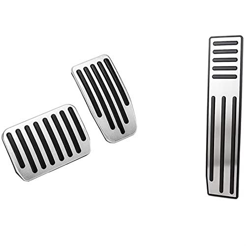 Pedales coches 1x Pedo Pedal Pedal Pad Pad Fit para Tesla Modelo X Modelo S & 2 PCS Aleación de aluminio Acelerador Pedo de pie Pedal modificado