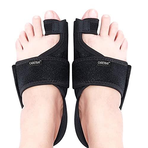 Caretras Bunion Corrector, Orthopedic Bunion Splint, Big Toe Separator Pain Relief, Non-Surgical Hallux Valgus Correction, Hammer Toe Straightener, Day Night Support