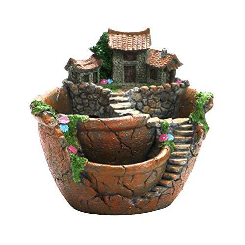 Vasi Da Fiori Creativi, Fioriera Da Giardino Creativa Da Favola, Fioriera Per Piante Grasse Con Vaso Di Fiori Carino Per La Casa, Decorazione Del Giardino