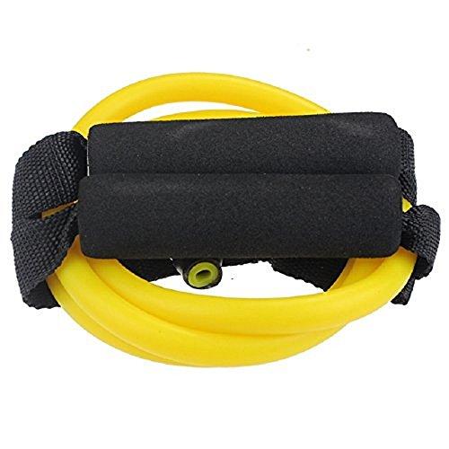 BlueBeach® Widerstand Typ der Fitness-Band D – Gym Yoga Muskeln Training Übung elastische Ausrüstung Training Tube Seil Kabel Stretch Mode Werkzeugkörper (zufällige Farbe) - 7