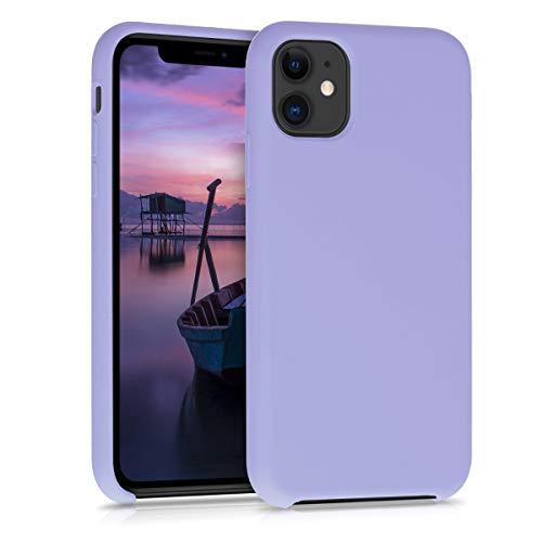 kwmobile Hülle kompatibel mit Apple iPhone 11 - Handyhülle gummiert - Handy Hülle in Lavendel