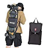 inktells Magic Foldable Electric Skateboard Backpack Bag with Comfortable 2 Shoulder Straps, Adjustable Skateboards Carrier for Travel Outdoor to Carry Cruiser Board,Sports Bags for Men and Women