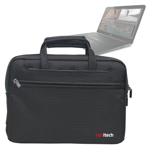 Navitech schwarzes Hülle/Cover/Tasche für Laptops/Notebooks & Tablet PC's für das Dell Precision M3800