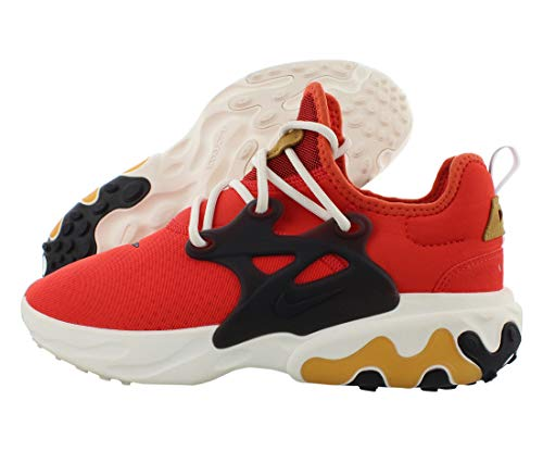 Nike Zapatillas de correr React Presto para hombre, rojo (Habanero Rojo/Negro), 42.5 EU