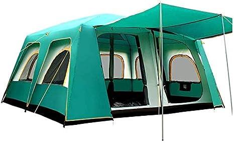 JLDNC 14-16 Persona Carpa para Acampar, Grandes Tiendas de ...