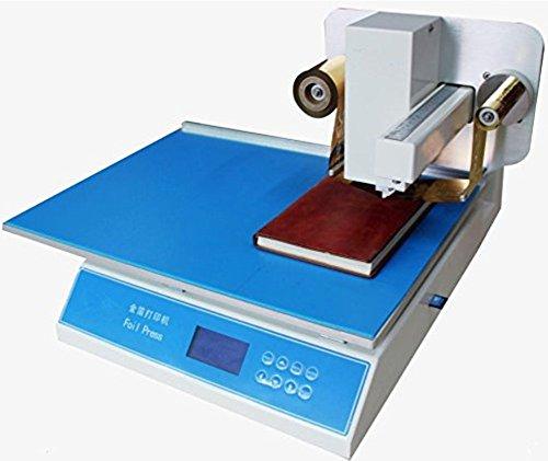 YJINGRUI Imprimante à Feuille Numérique Presse à Emboutir Automatique Numérique à Chaud Machine de Presse à Embosser 220V