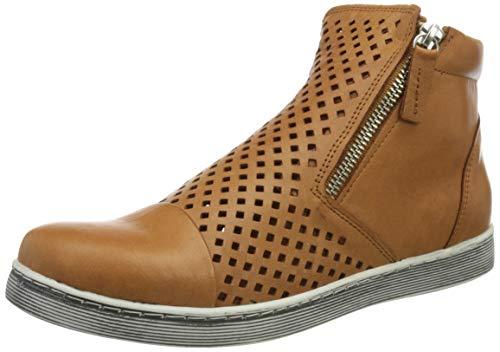 Andrea Conti 349615, Zapatillas Mujer, Cognac, 37 EU