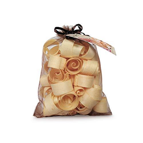 Zirben Familie - bekannt aus dem Fachhandel & der Hotellerie • Zirbenduft-Säckchen • mit 100% natürlichen ZirbenLocken • Duftendes Naturprodukt im Organzasäckchen
