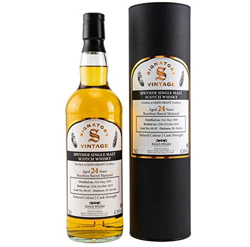 Glen Grant 1995-24 Jahre - Bourbon Barrel - Signatory Vintage Small Batch Collection - Cask Strength