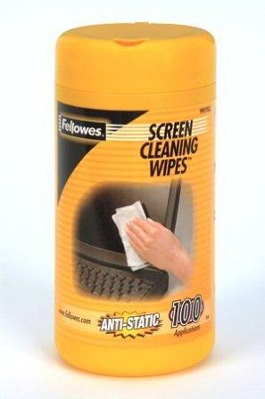 Fellowes Reinigungstücher für Bildschirme 100 Stück
