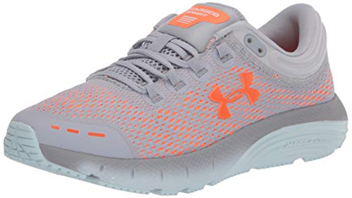 Under Armour Women's Charged Bandit 5 Running Shoes, Grey (Mod Gray/Rift Blue/Orange...