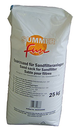 Summer Fun Quarzfiltersand 0,4-0,8 mm 25 kg