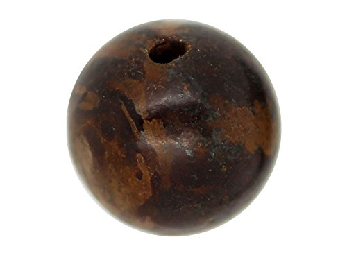 5x Perle Grünquarz Kaffee 10mm–Grade A