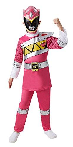 Kinder Kostüm Pink Power Ranger Dino Charge Karneval Gr.3 bis 4 J.