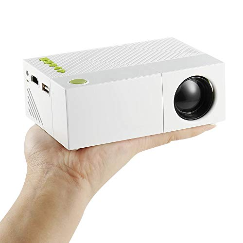 Beamer Home Theater Cinema USB HDMI AV SD Mini draagbare HD LED LCD-projector Home Media Movie Player ondersteuning 1080P AV, USB, SD-kaart, 320 X 240 HDMI/USB/AV/CVBS