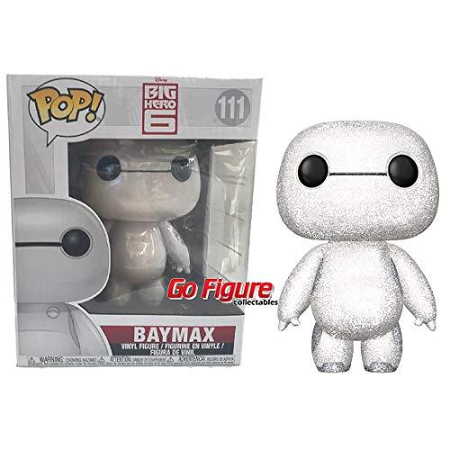 Funko - Figurine Disney Big Hero 6 - Baymax Diamond Exclu Pop 15cm - 0889698291279