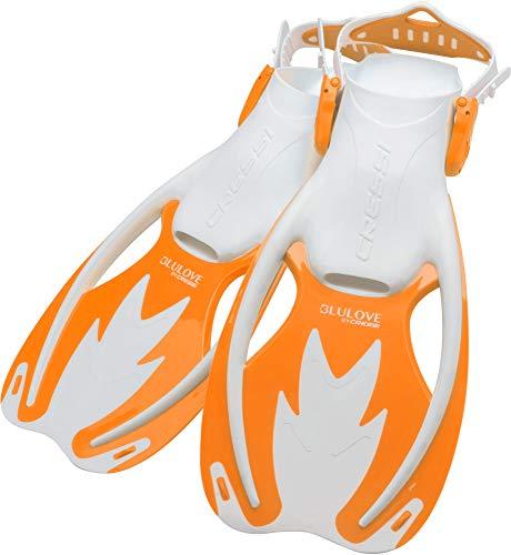 Cressi Rocks fins, White/Orange, L/XL