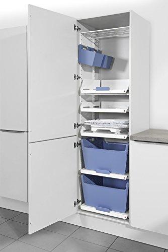 Hailo Wäschekorb 210 Auszug Laundry Area Einbau 60 Wäschesammler Wäschebox System Set 5