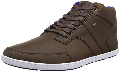 Boxfresh Herren Shepperton Hohe Sneakers, Brown (Chocolate Brown), 39.5 EU