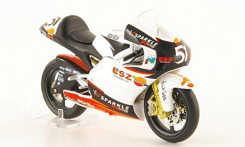 Aprilia RSW250, No.51, A.De Angelis, MotoGP, 2004, Modellauto, Fertigmodell, SpecialC.-11 1:24