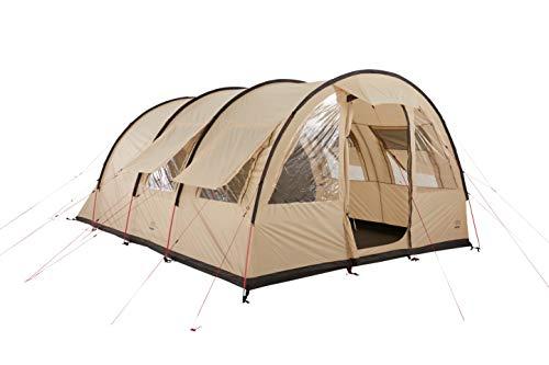 Grand Canyon HELENA 6 - tienda de túnel para 6 personas | tienda familiar/de grupo con dos zonas de dormir | Mojave Desert (beige)