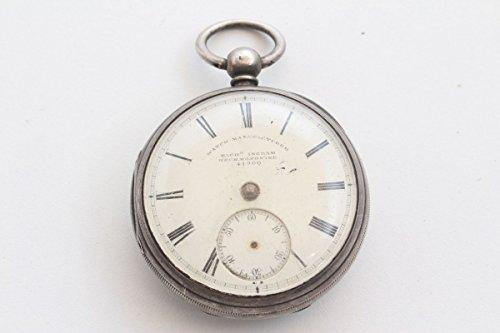 Unbekannt Schöne alte Taschenuhr Rich. Ingram Heckmondwike Spindeltaschenuhr England ~1870