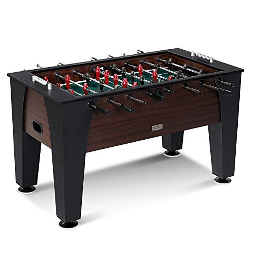 Boot BOY Foosball Tables - TOP Brand for Foosball Tables (Best Selling Models - FTSI Approved & CARB Certified MDF Construction) (Black and Brown - 55*30*34 Inches)