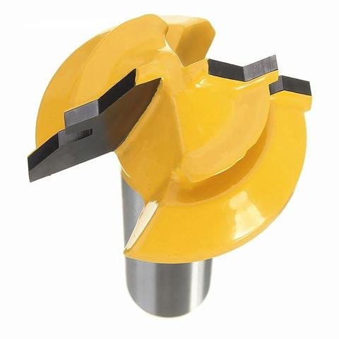 Valiant 45° Lock Miter Router Bit With 1/2 Inch Shank - 45-Degree Angle Miter Joint Cutter w/Anti-Kickback Design - Premium Woodworking Tool For Wood, MDF, Density Board, Chipboard, Splints & More