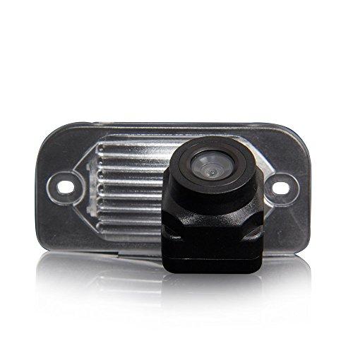 Kalakus Coche Universal de Visión Trasera Cámara en luz de la matrícula CCD Chip Revertir Asistencia de Copia de Seguridad para Mercedes Benz C W203 E W211 CLS Klasse W219 CLK W209