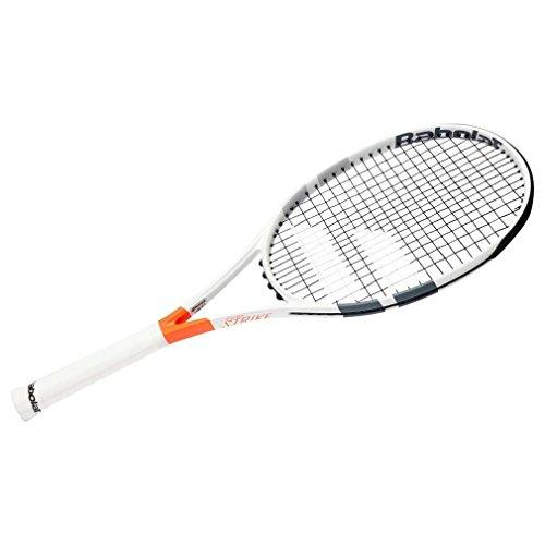 Babolat Pure Strike Team Strung Raqueta de Tenis, Unisex Adulto, Blanco/Rojo, 2