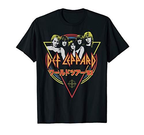 Def Leppard - Japanese Pyromania T-Shirt