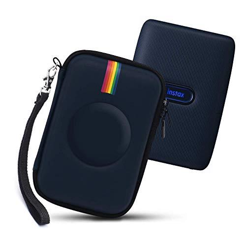 Fromsky Tasche Hülle für Fujifilm Instax Mini Link Smartphone Printer Drucker, Hart Reise Tragen Case (Blue)