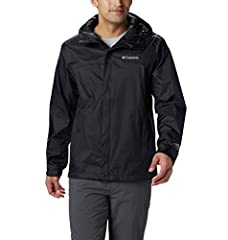 ADVANCED TECHNOLOGY: Columbia Men's Watertight II Jacket is crafted of a waterproof nylon shell durable enough to withstand anything from drizzle to downpour at a moment's notice. HANDY FEATURES: This rain jacket features an abrasion resistant chin g...