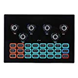 Nicoone Sc-01 - Scheda audio live per giochi di telefono cellulare, per inviare e ricaricare in tempo reale