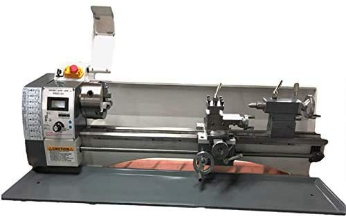 Best Bargain INTBUYING Precision Metal Lathe Imperial/Metric Variable Speed Bench Lathe Brushless Mo...