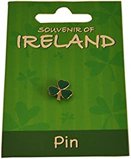 St. Patrick's Day Metal Shamrock Lapel Pin, 1.5Cm X 1.5Cm Length And Height