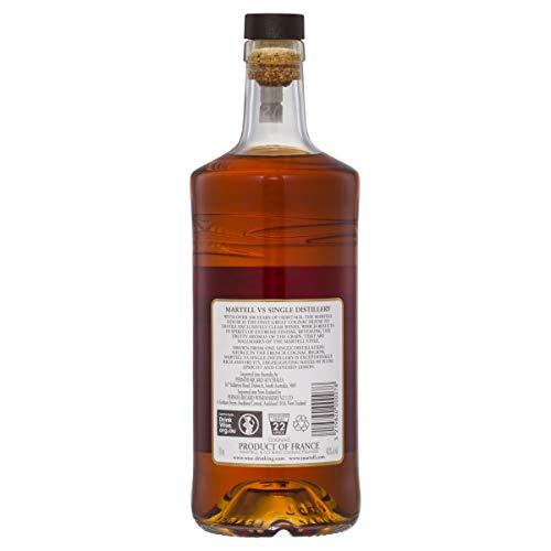Martell V.S. Fine Cognac 1715 – Einzigartiger Cognac mit würzigem Geschmack – Ideal als Geschenk oder für besondere Anlässe geeignet – 1 x 0,7 L - 7