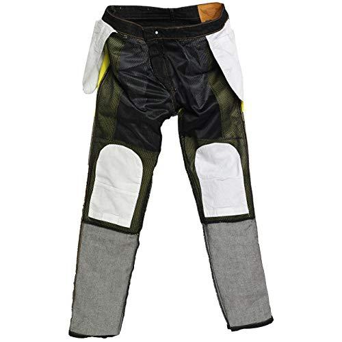 forro de protecci/ón reforzado Pantalones vaqueros de ingenier/ía para hombre protector de rodilla y cadera. Great Bikers Gear con forro de aramida