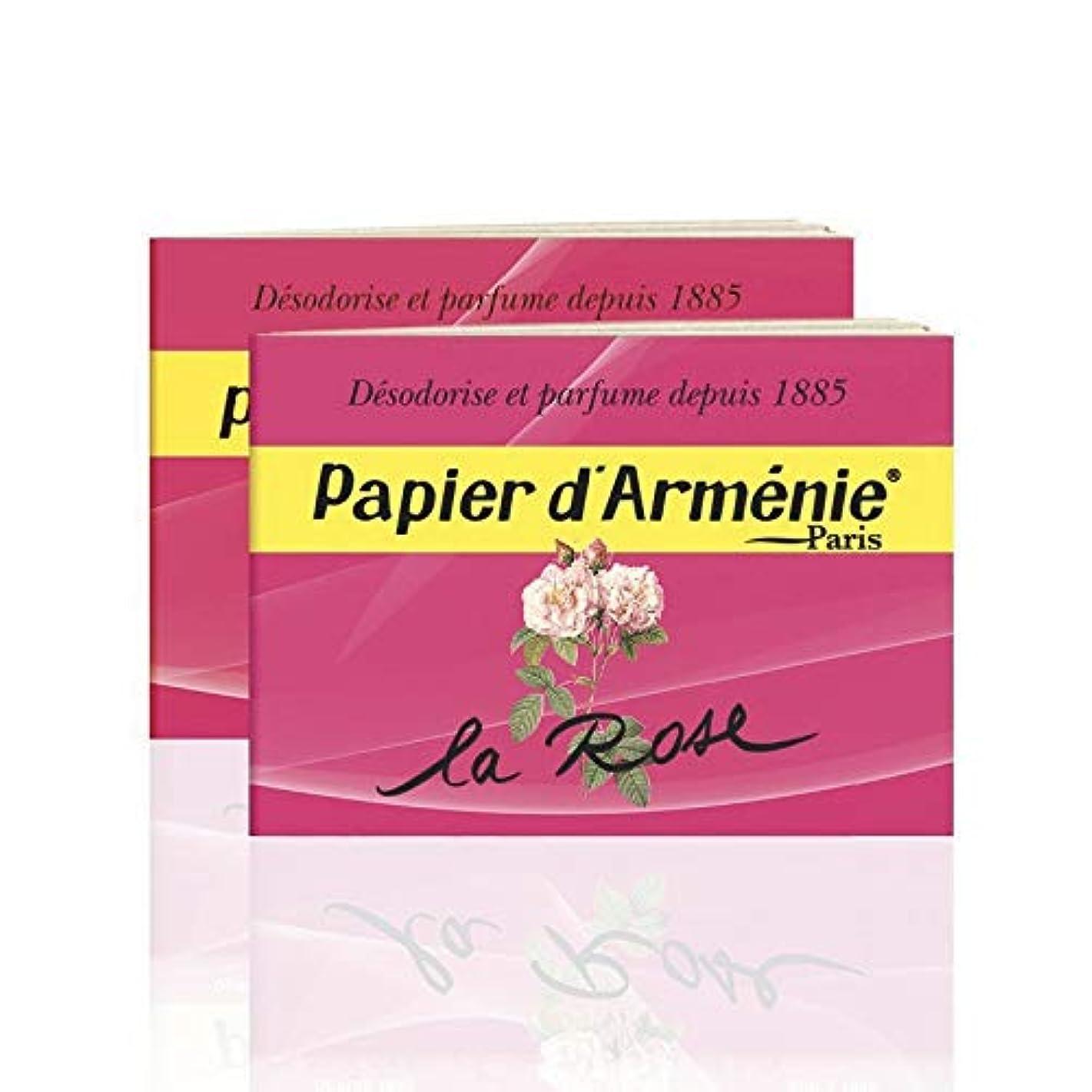 戸棚寛解定刻パピエダルメニィ ローズ Papier d'Armenie La Rose (3)