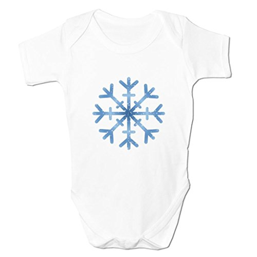 Funny Baby Grows Cute Baby Clothes for Baby Boy Baby Girl Bodysuit Vest Snowflake Emoticon