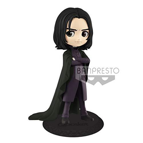 Figur Sammlung Severus Piton Snape QPOSKET Dunkles Kleid Hogwarts Magische Harry Potter Version A - Original Banpresto Warner Bros